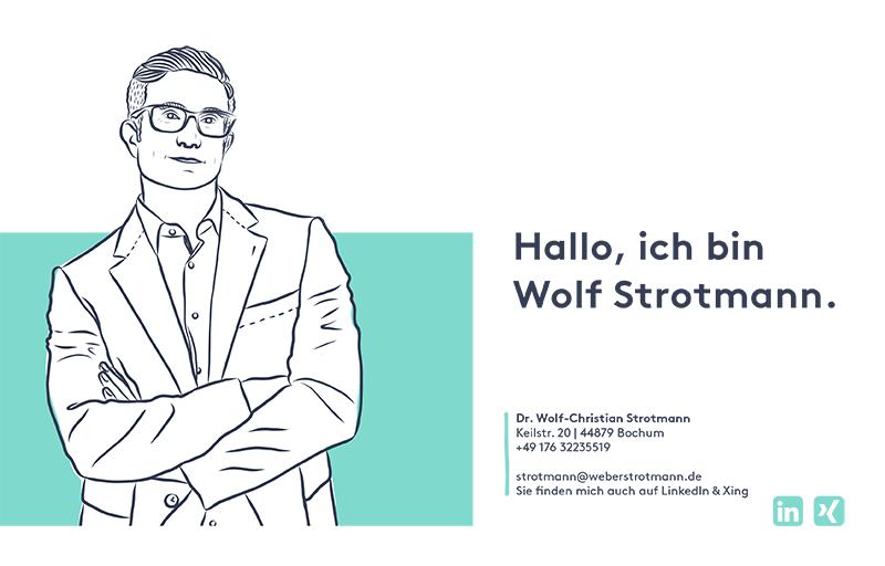 Wolf Strotmann Lebenslauf